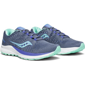 saucony Jazz 20 Shoes Women Grey/Aqua/Violet